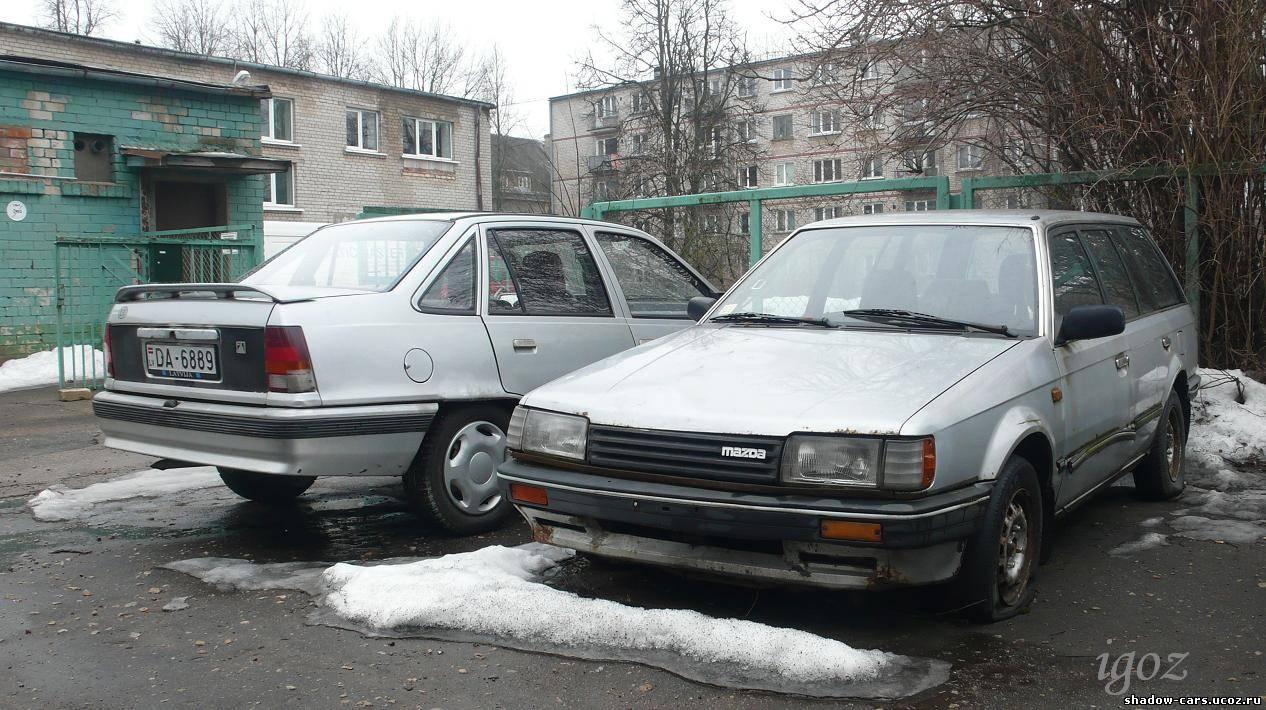 mazda323 wagon 17 diesel 011987